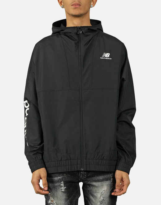 NB ATHLETICS FULL-ZIP WINDBREAKER