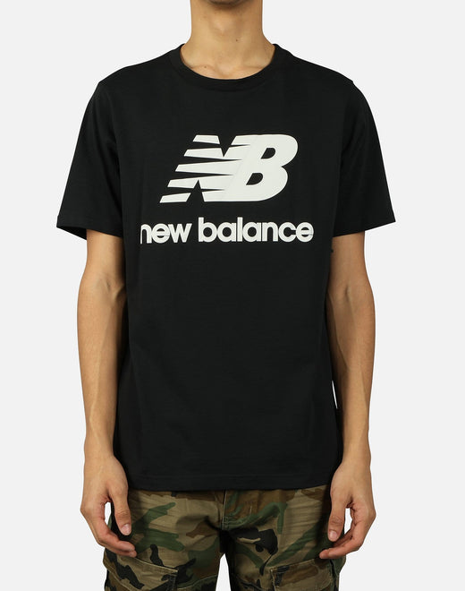 NB ATHLETICS SPLIT STACK LOGO TEE