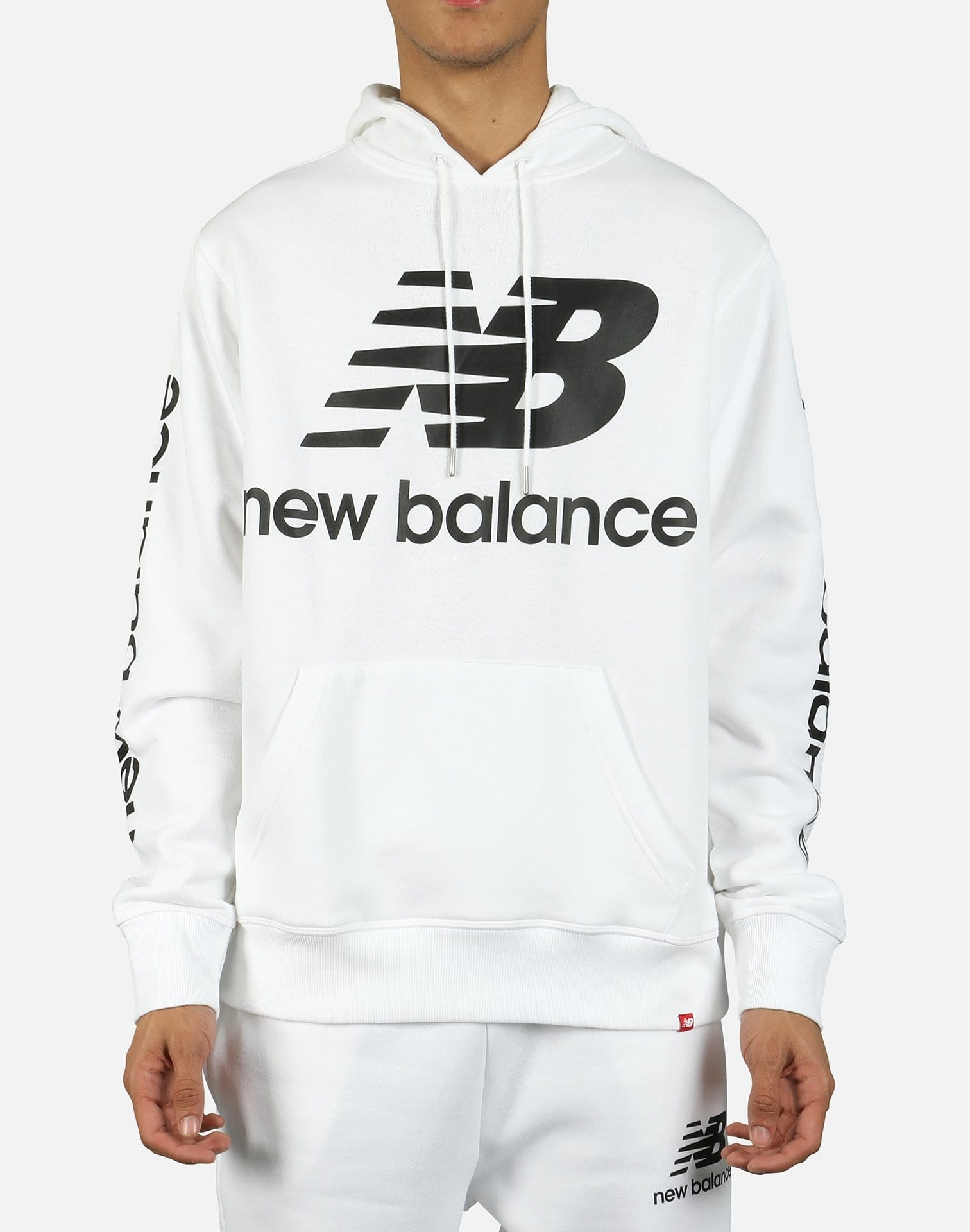 New Balance Men's Essentials NB Logo Hoodie