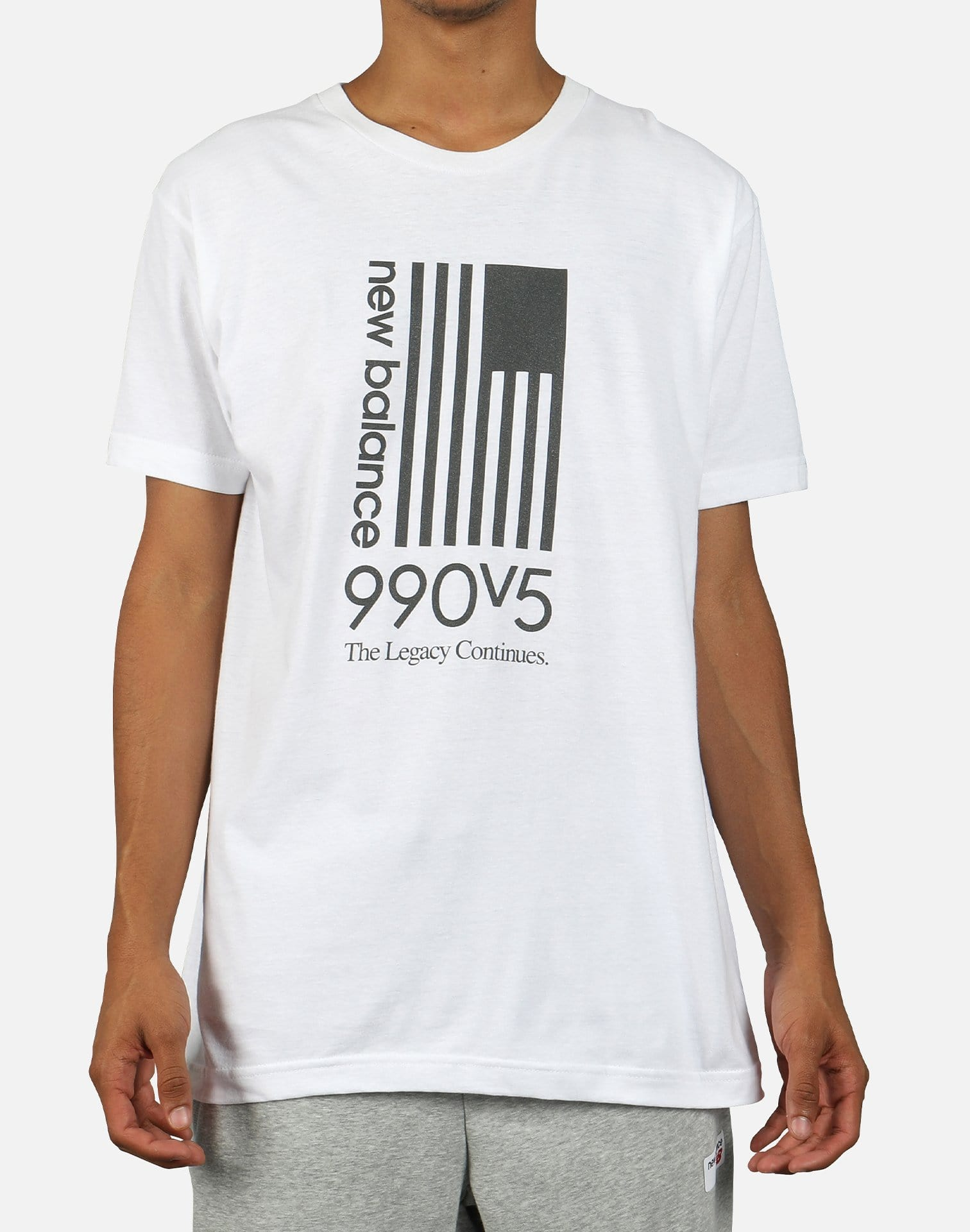 New Balance Men's 990V5 Flag Tee