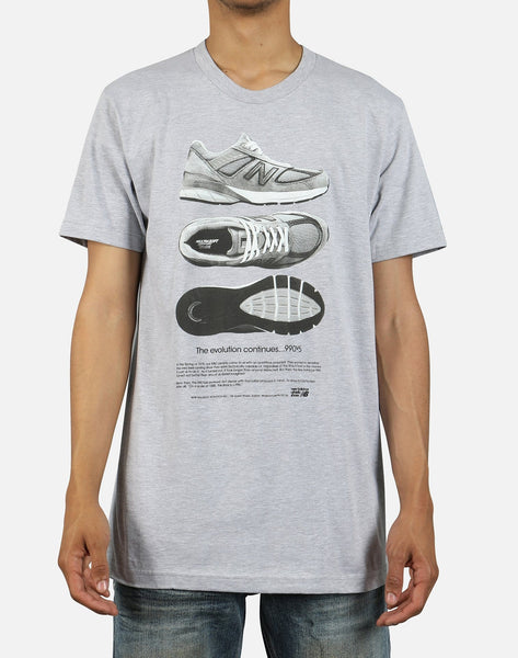 New Balance 990V5 Shoes Tee
