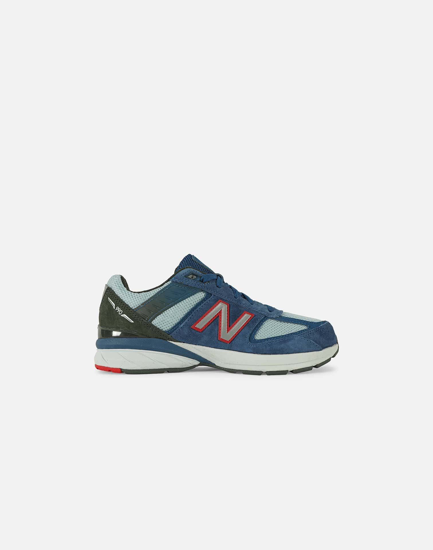 NewBalance 990V5 'BLUE CRAB' PRE-SCHOOL