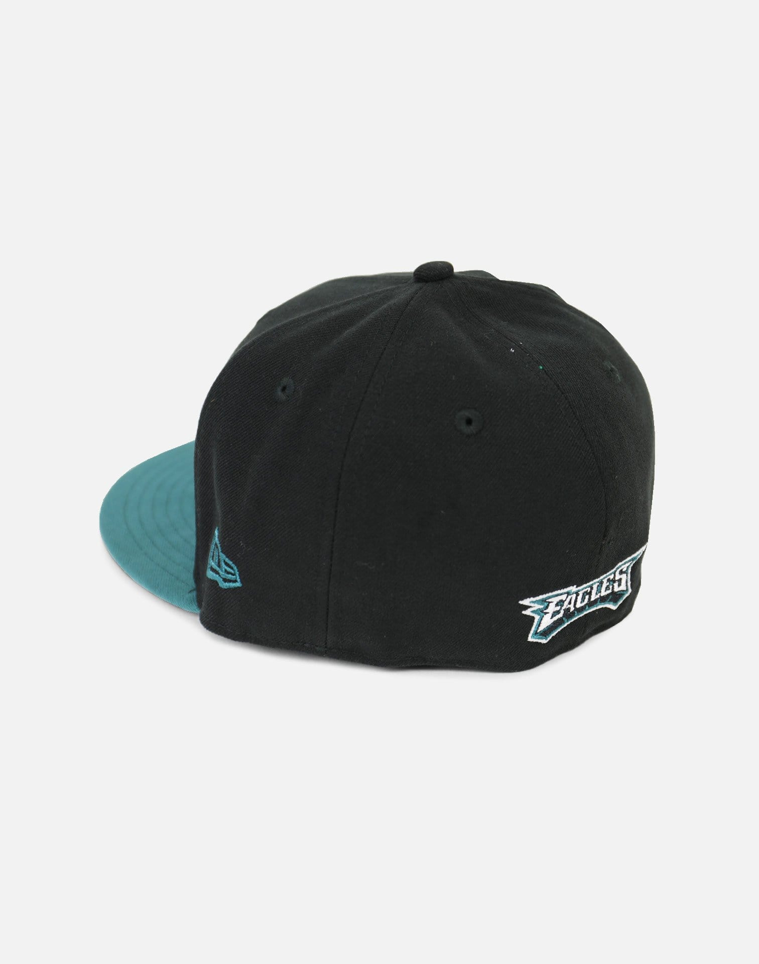 New Era Philadelphia Eagles Authentic Fitted Hat (Black/Green)