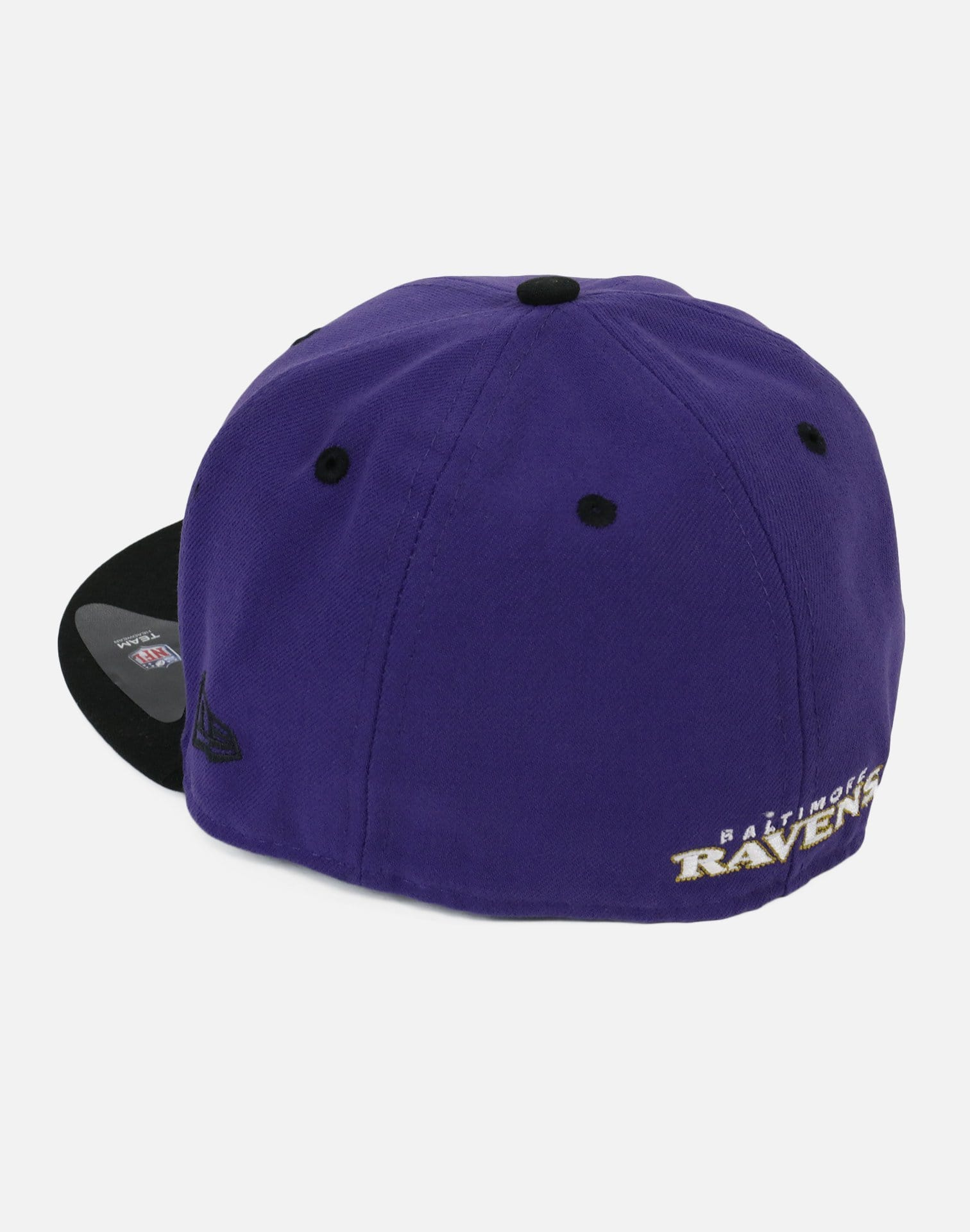 New Era Baltimore Ravens Authentic Fitted Hat (Purple/Black)