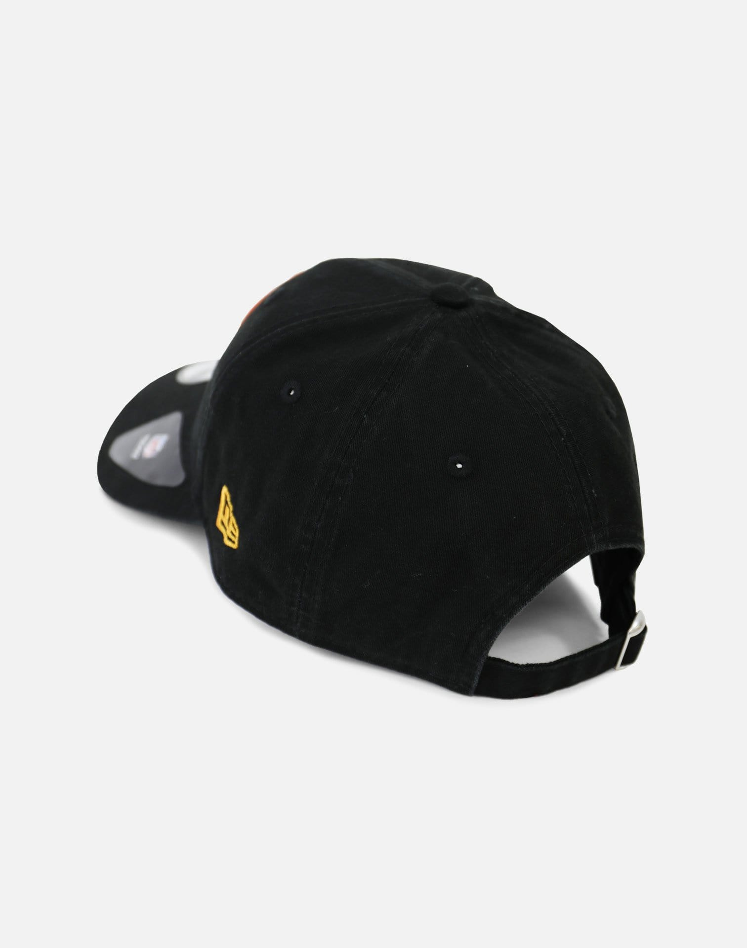New Era Pittsburgh Steelers Tone Front Strapback Hat (Black)