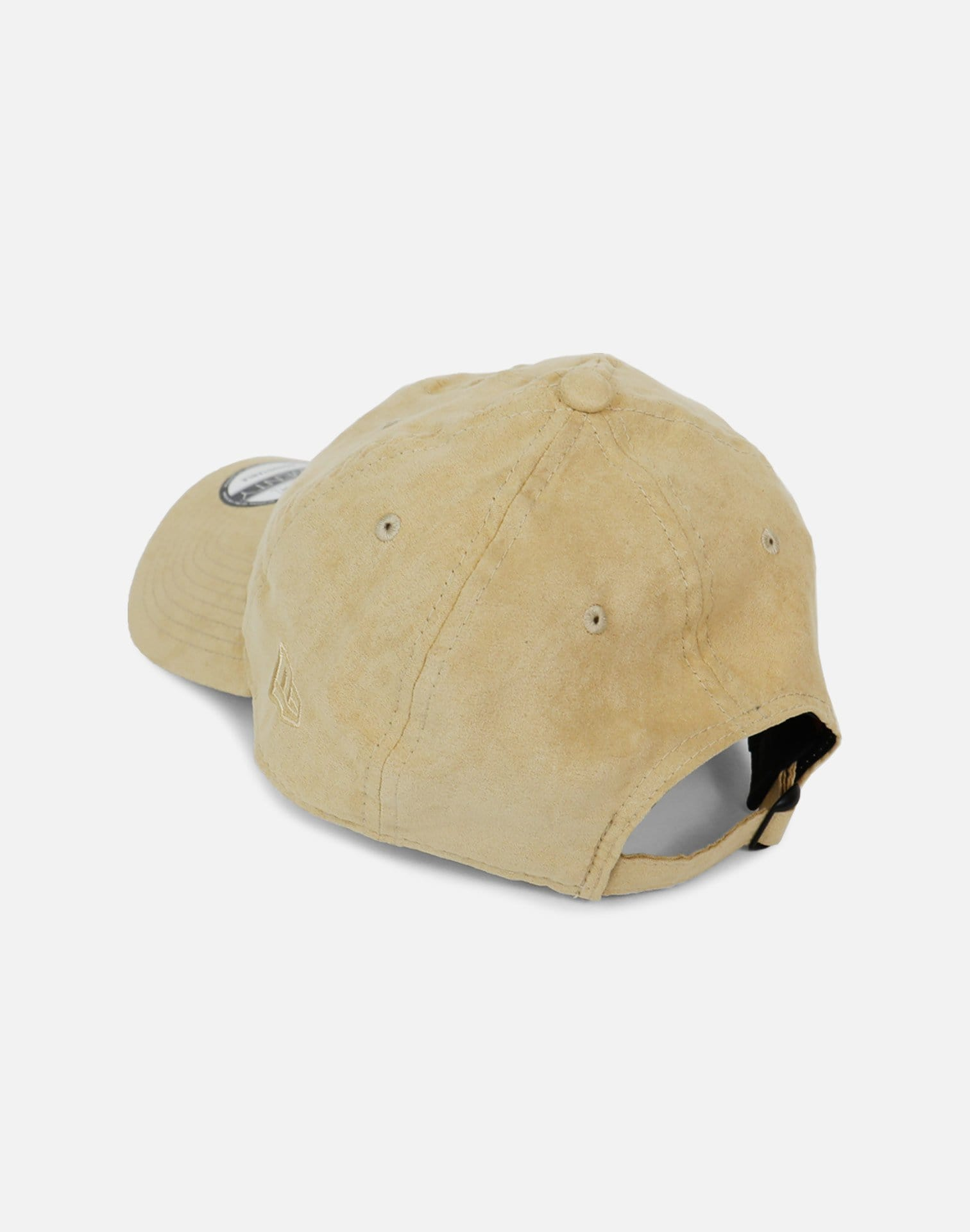New Era Cleveland Cavaliers Stone Wash Suede Dad Hat (Tan)