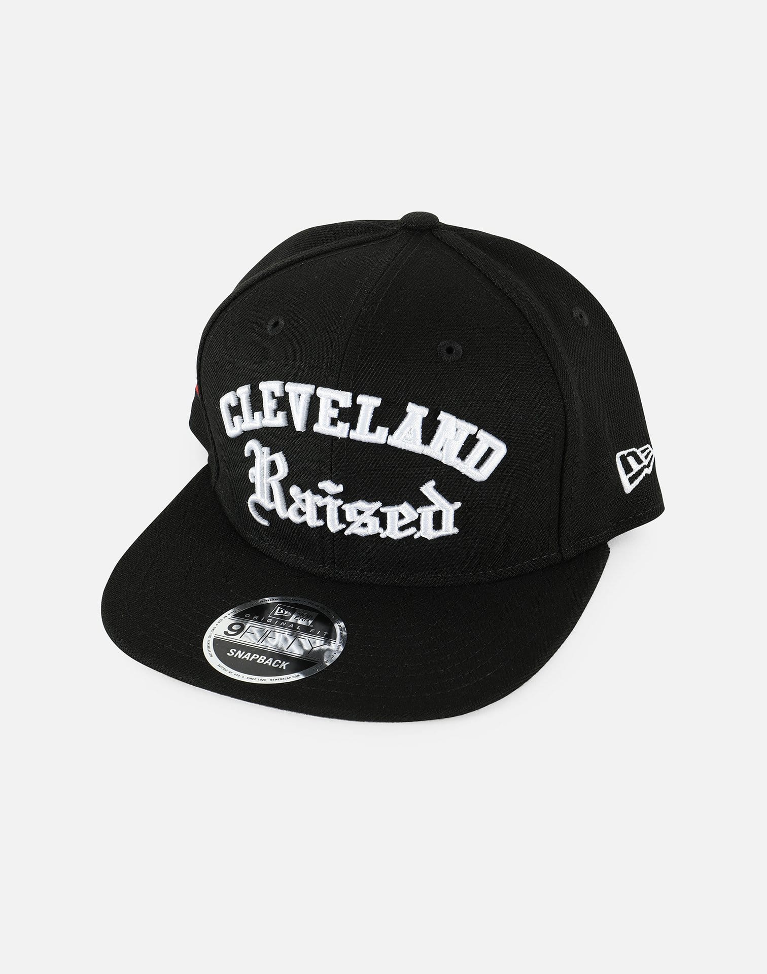 New Era Cleveland Raised Deluxe Snapback Hat