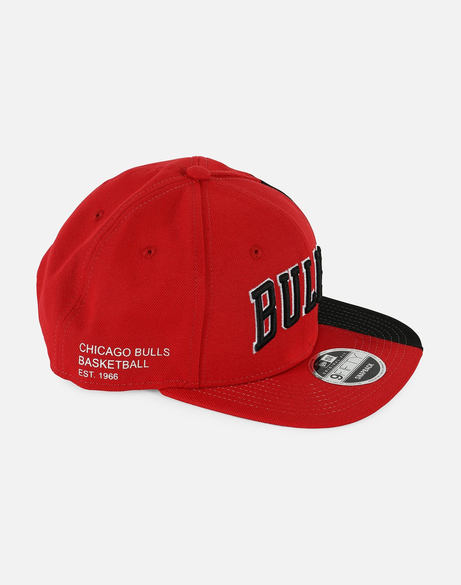 New Era Exclusive Customs NBA Chicago Bulls XL Logo 2 Tone Snapback Hat