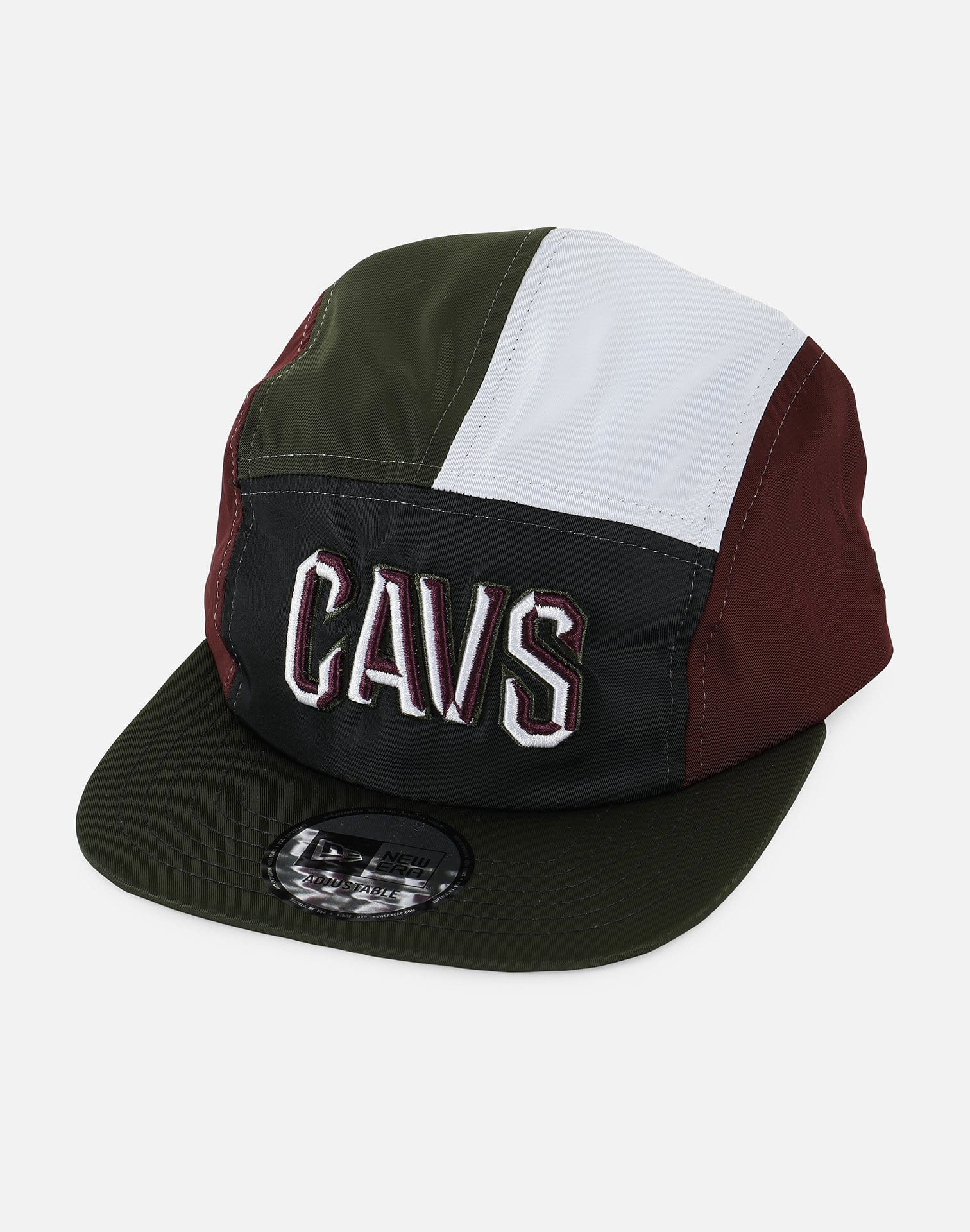 New Era Exclusive Customs NBA Cleveland Cavaliers Camper 008 Strapback Hat