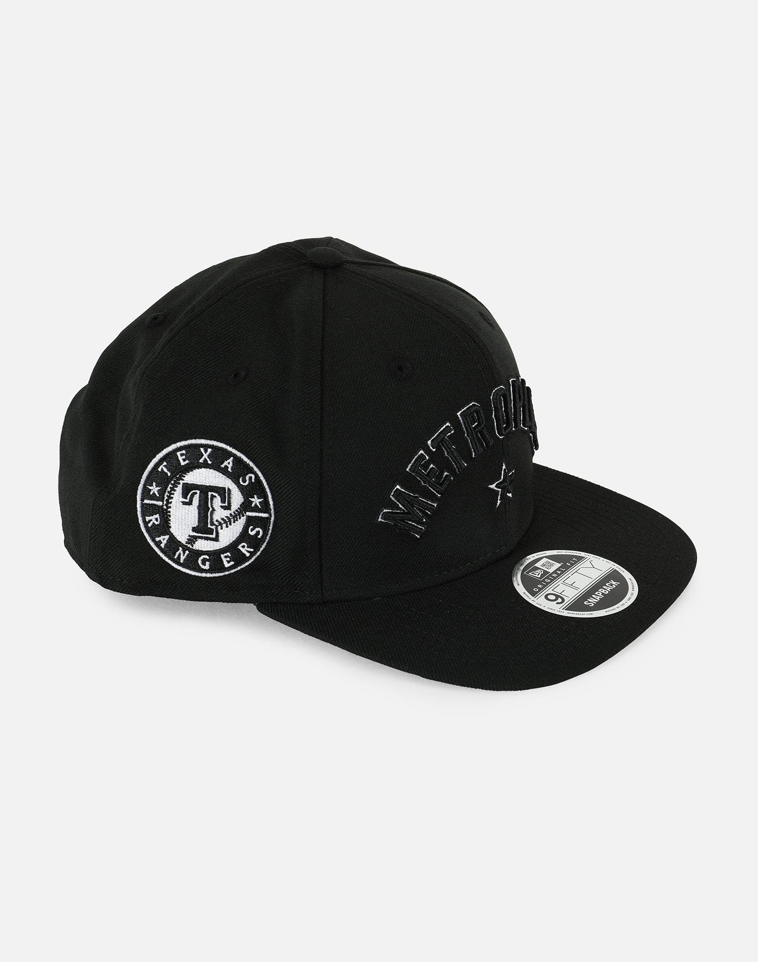 New Era MLB Texas Rangers Metroplex 019 Snapback Hat