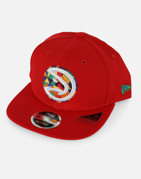 New Era NBA Atlanta Hawks Design Lab DTLR VILLA Exclusive Snapback Hat