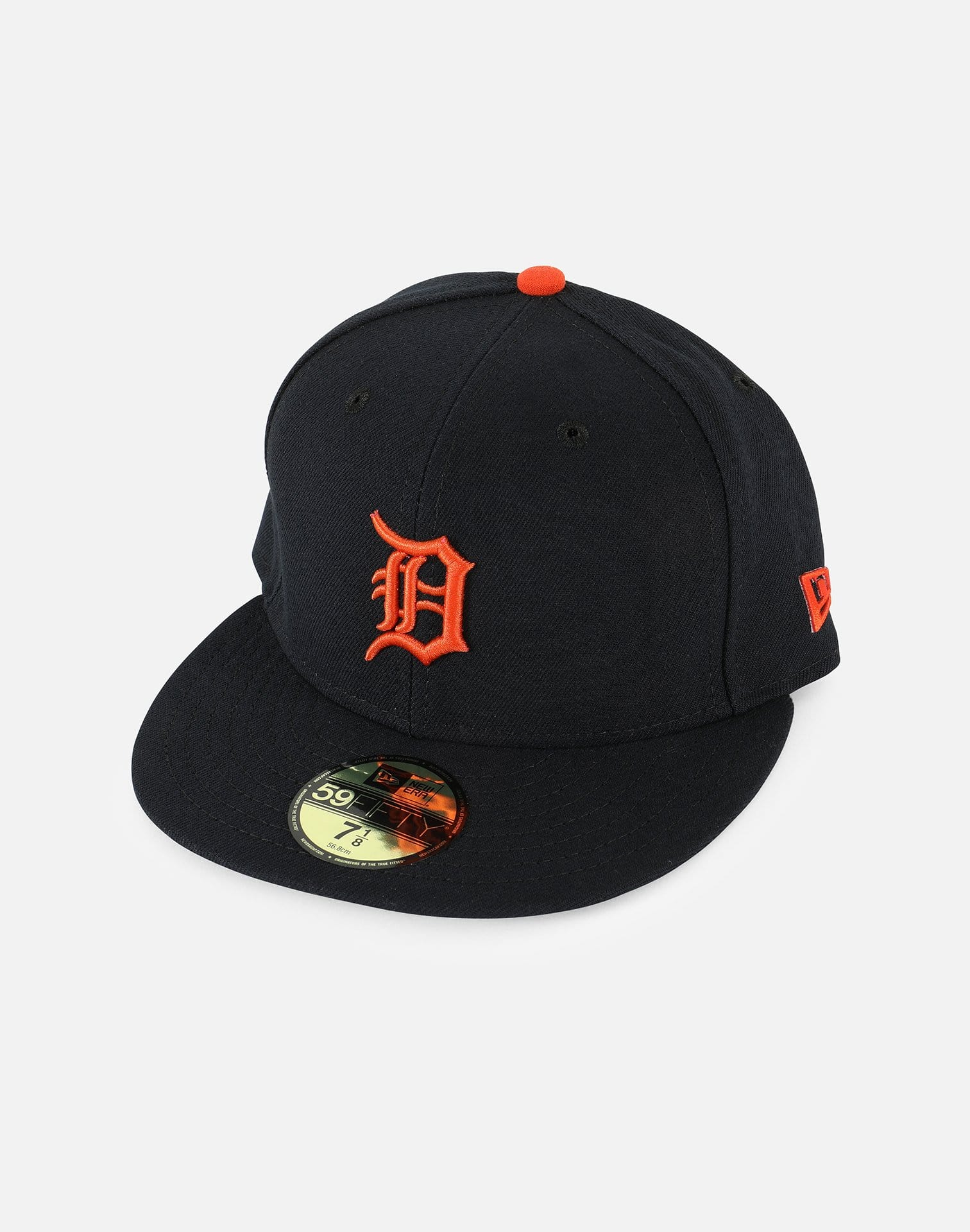 New Era MLB Detroit Tigers Road Fitted Hat
