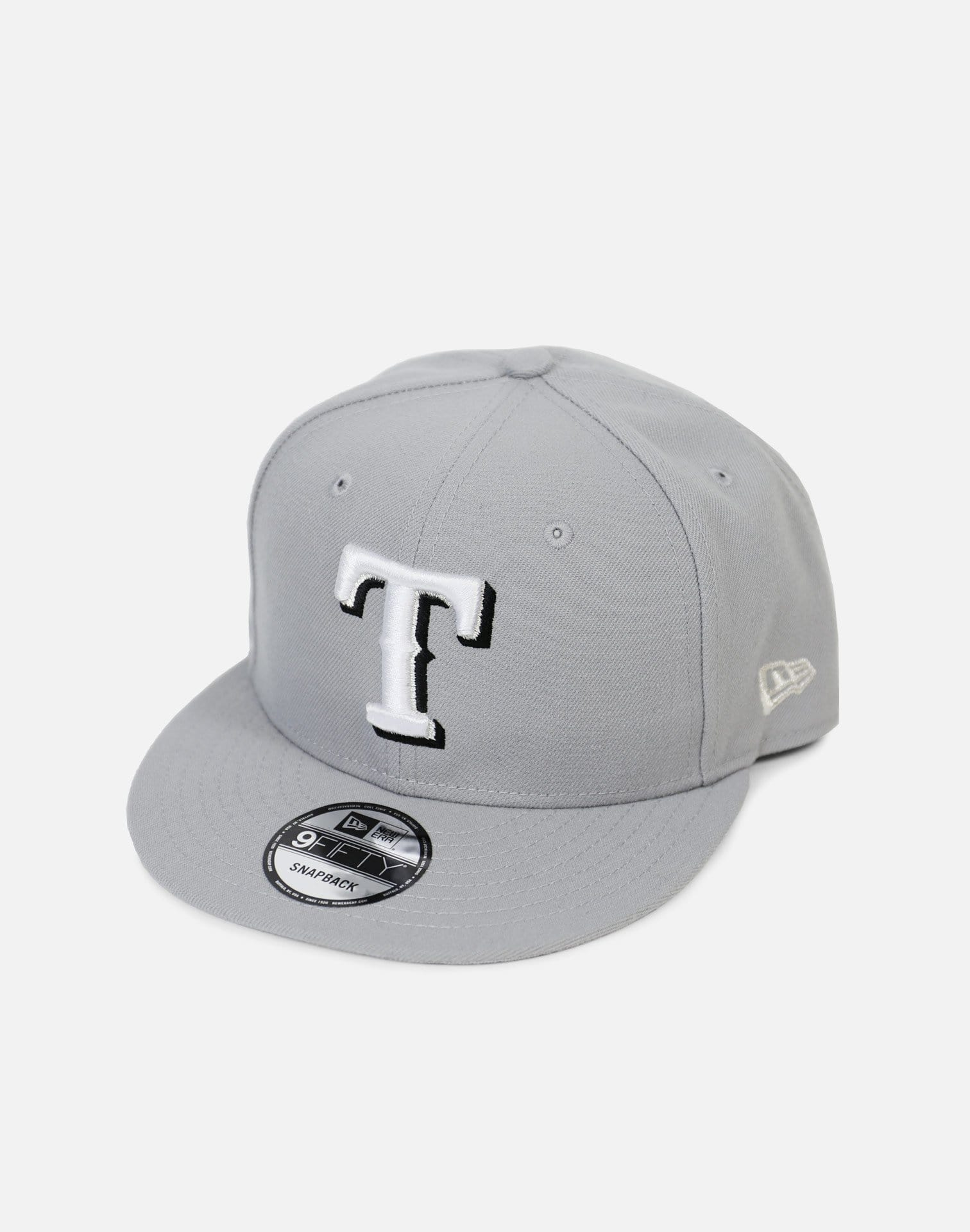 New Era Texas Rangers 'Pure Money' Snapback Hat (Grey)