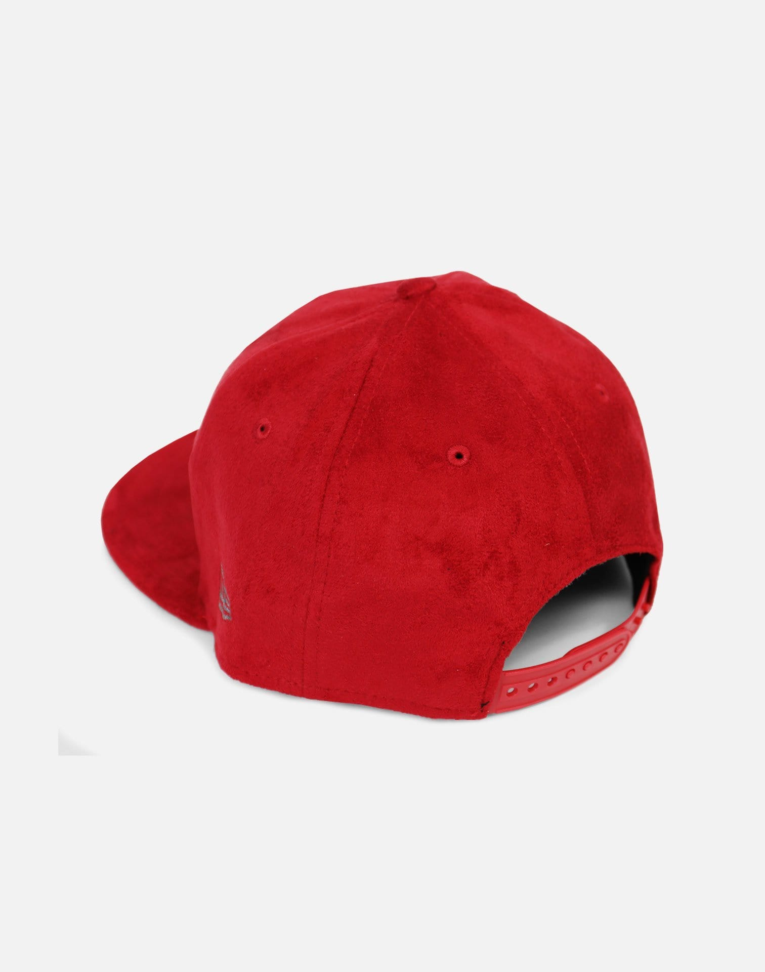 New Era Cleveland Cavaliers Suede Snapback Hat (Red)