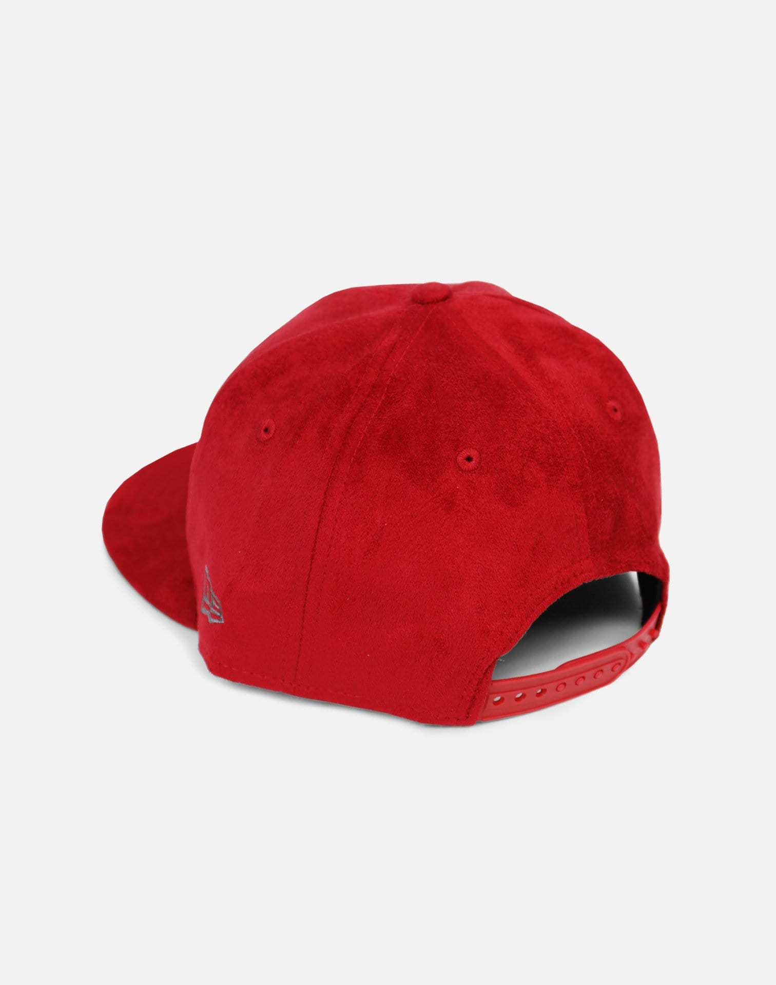 New Era Minnesota Timberwolves Suede Snapback Hat (Red)