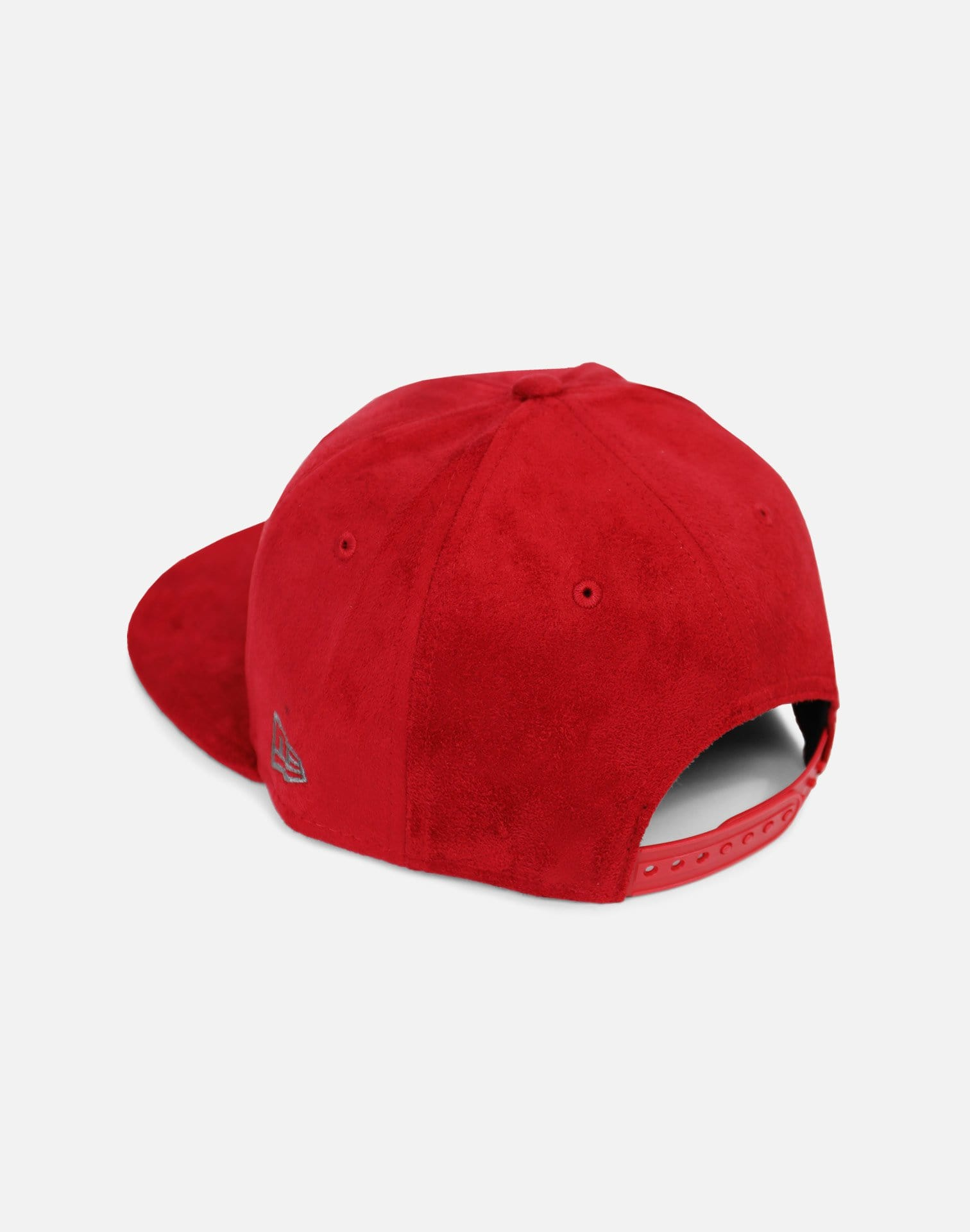 New Era Detroit Tigers Suede Snapback Hat (Red)