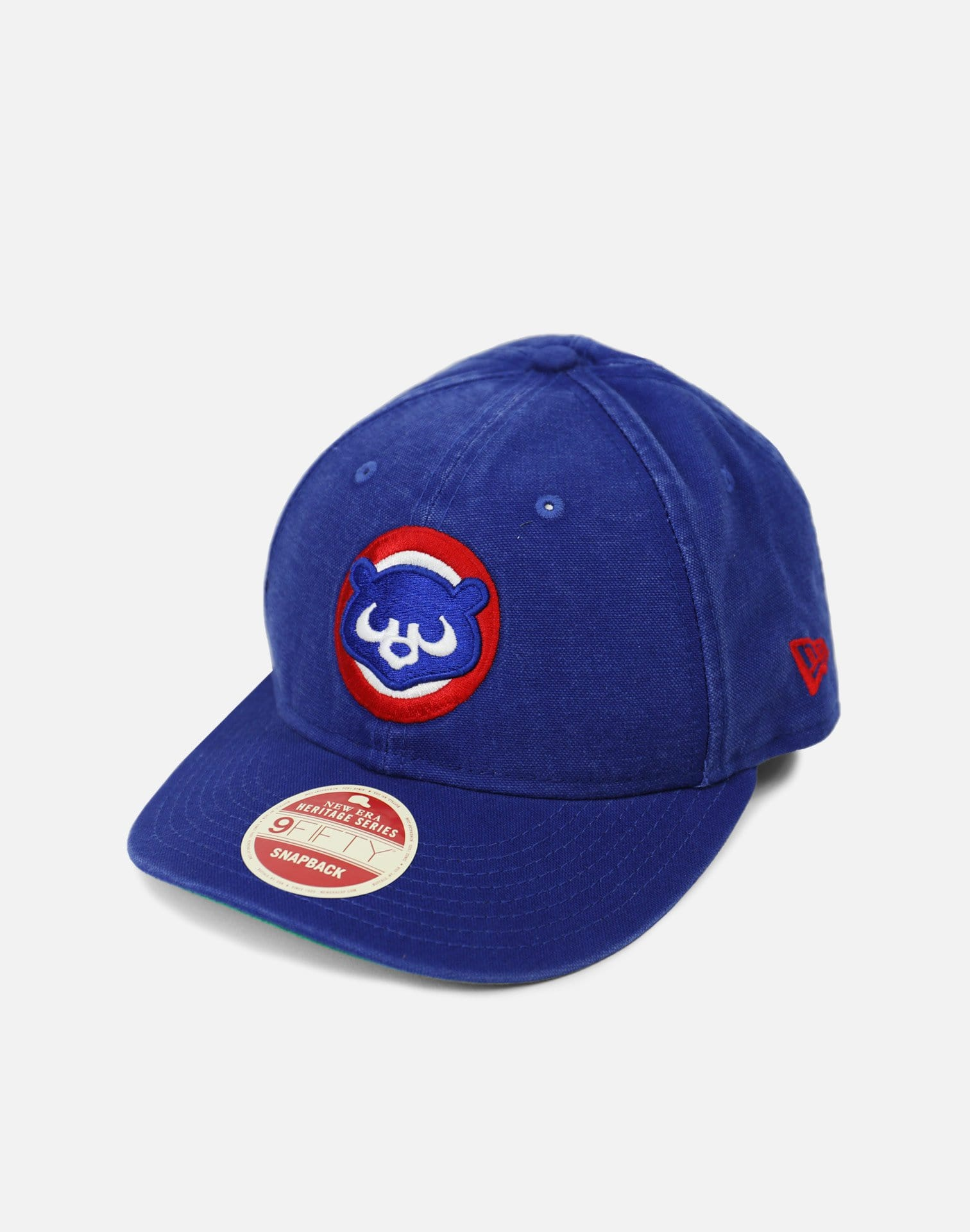 New Era Chicago Cubs Vintage Tribute Dad Hat (Blue/White-Red)