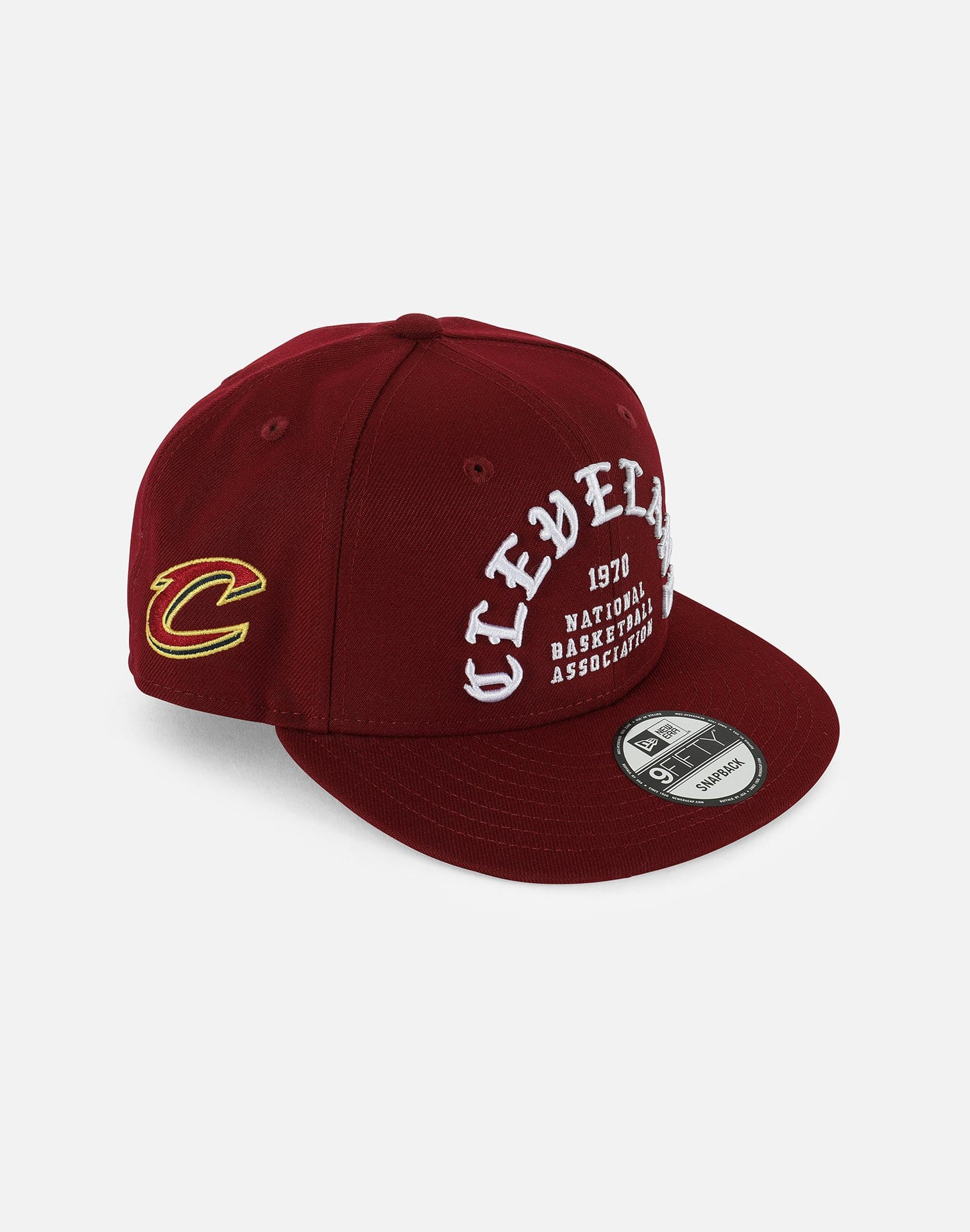 New Era NBA Cleveland Cavaliers Team Deluxe 950 Snapback Hat