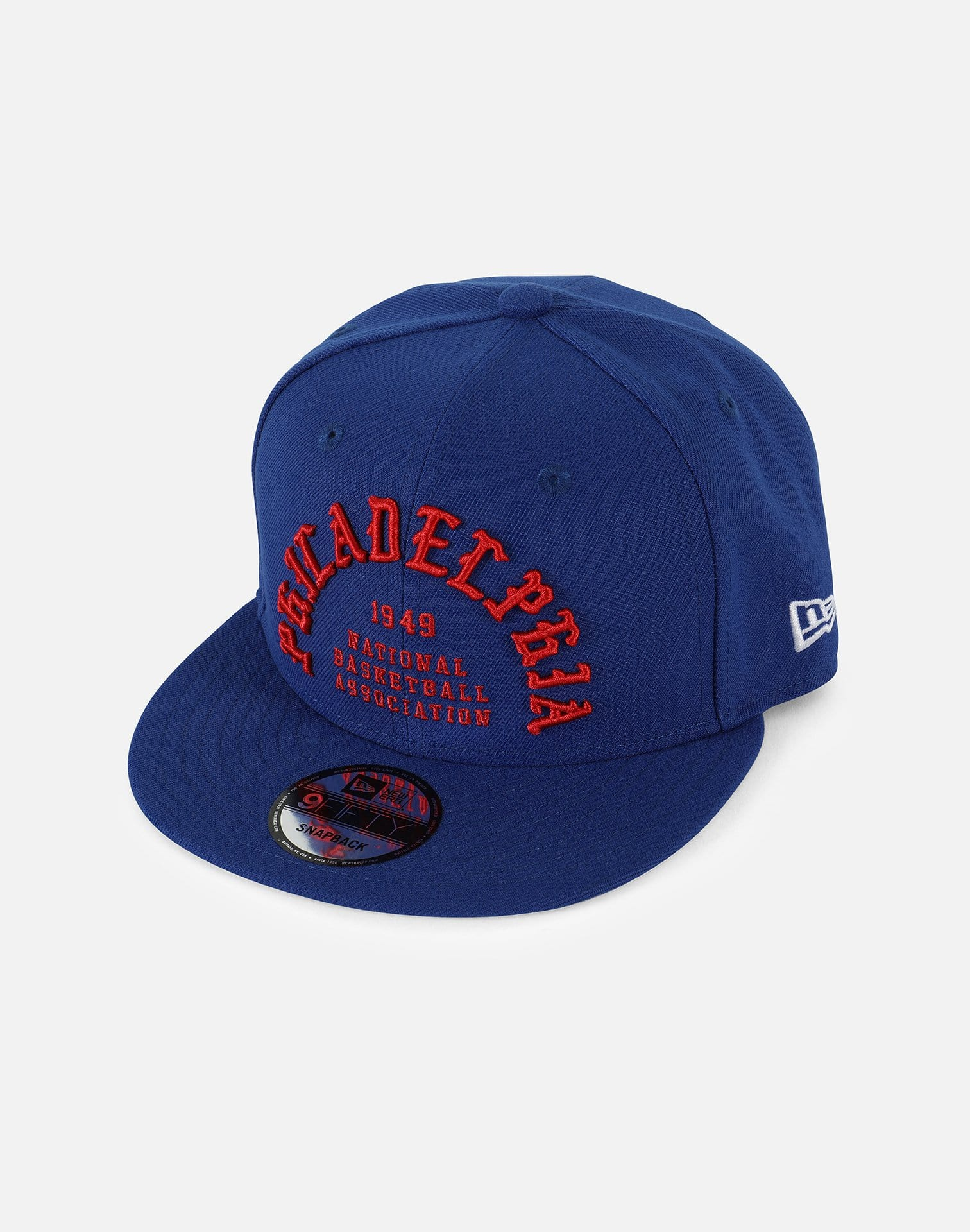 New Era NBA Philadelphia 76ers Team Deluxe 950 Snapback Hat