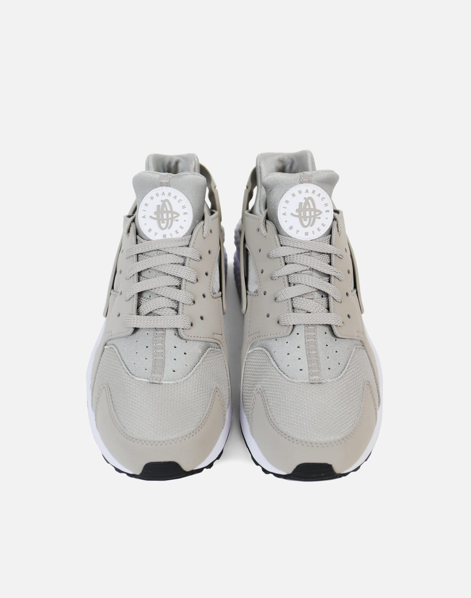 Nike Air Huarache Run (Cobblestone Grey/White-Black)