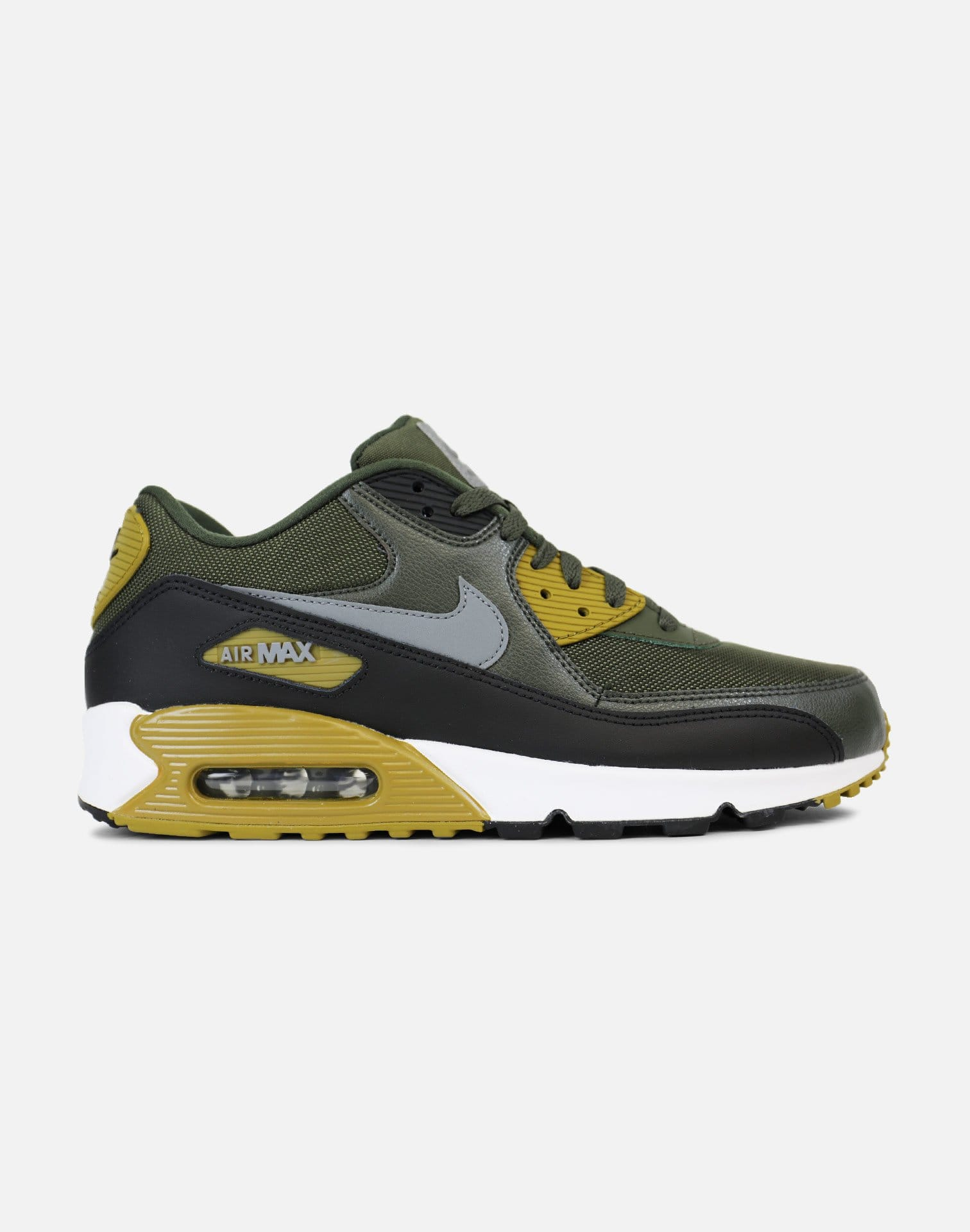 Nike Air Max 90 Essential (Cargo Khaki/Black-Sequoia-Cool Grey)
