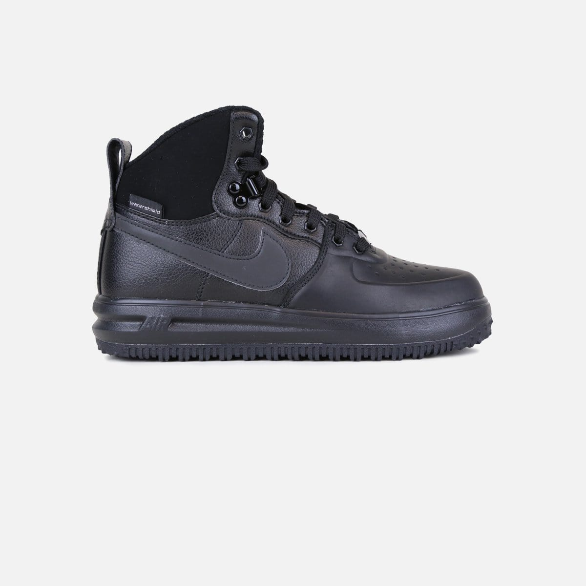 Nike Lunar Force 1 Sneakerboot Grade-School (Black/Black)