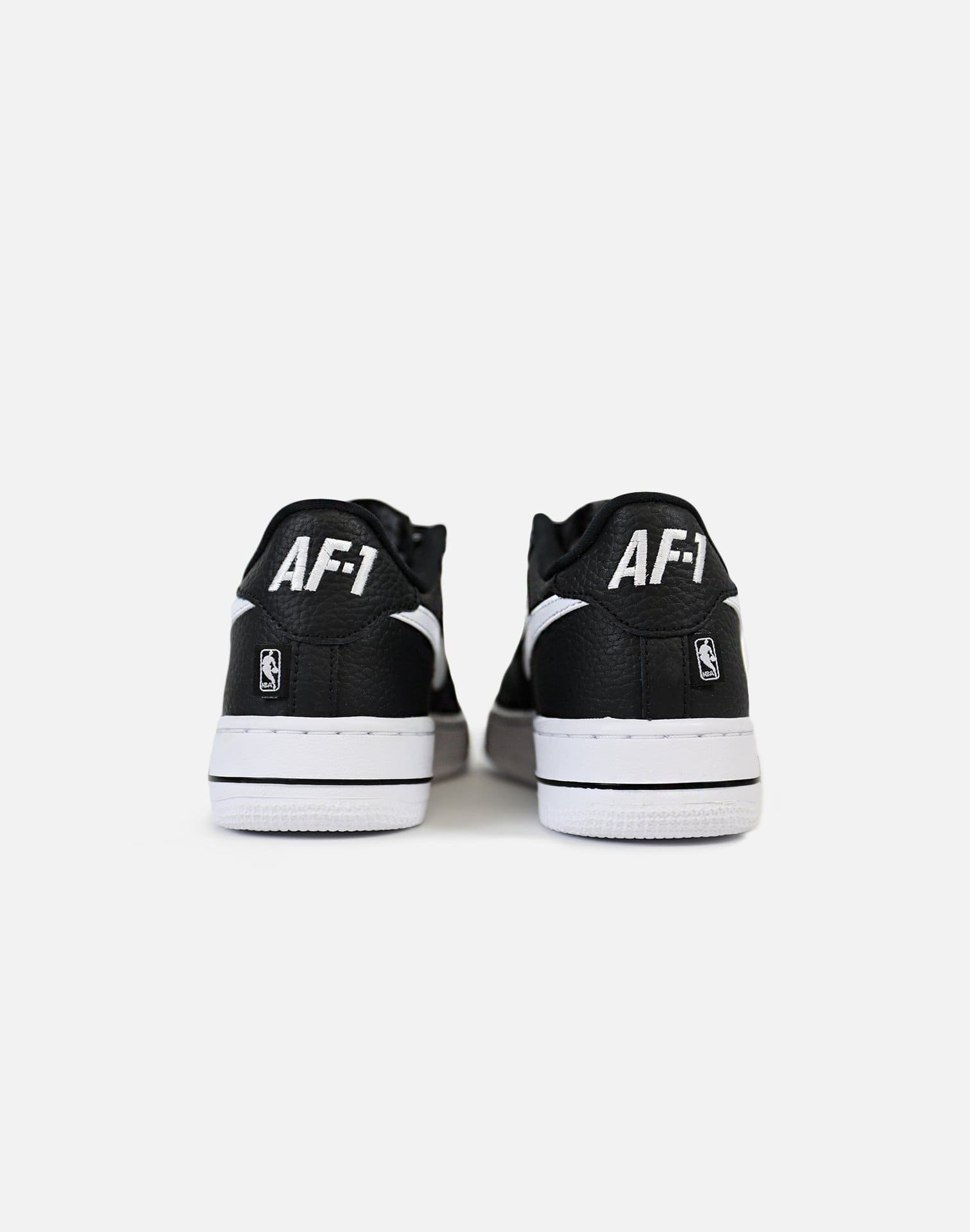 Nike Air Force 1 Low NBA 'Love For The 1' Grade-School (Black/White)