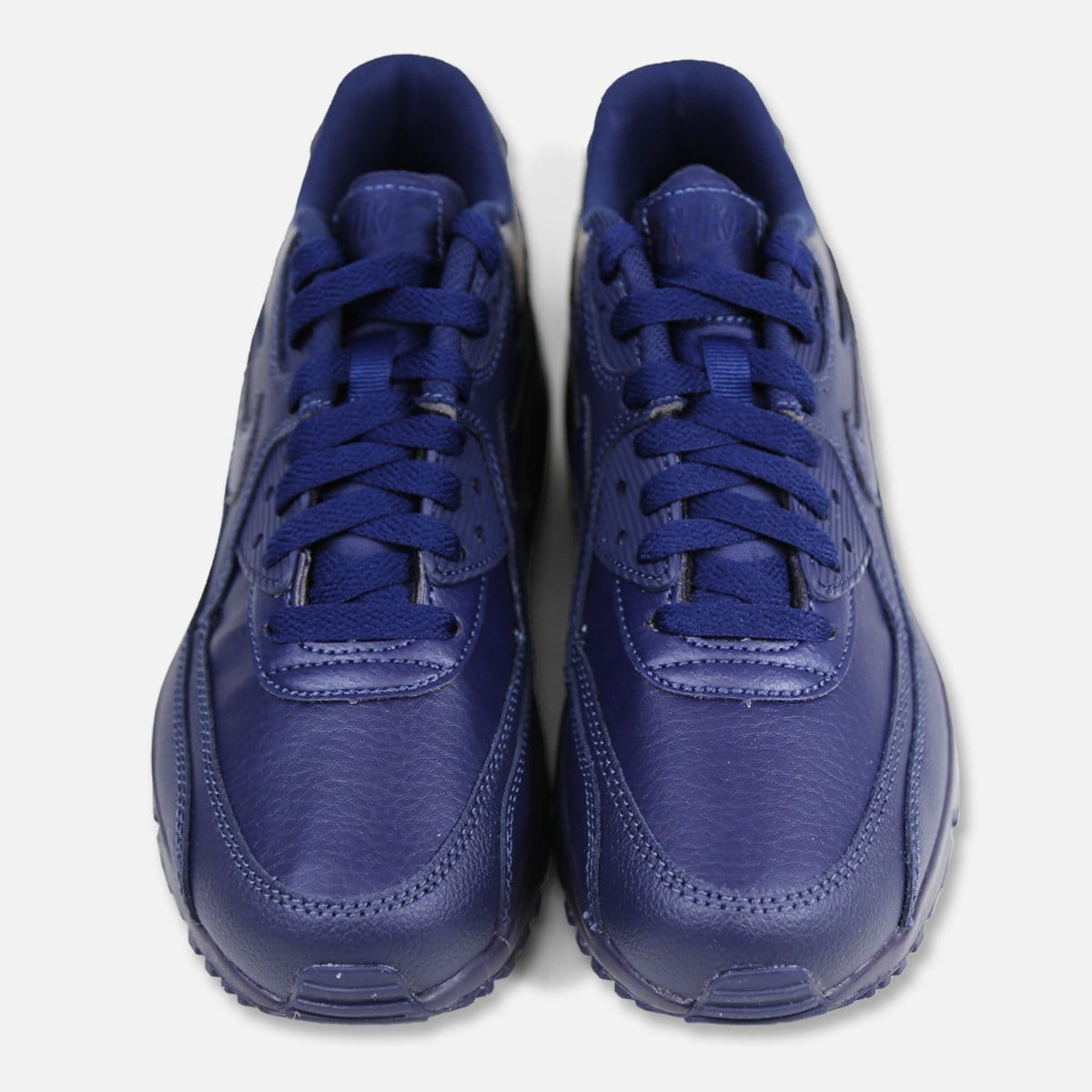 RUVilla.com is where to buy the Nike Air Max 90 Leather Grade-School (Obsidian)!