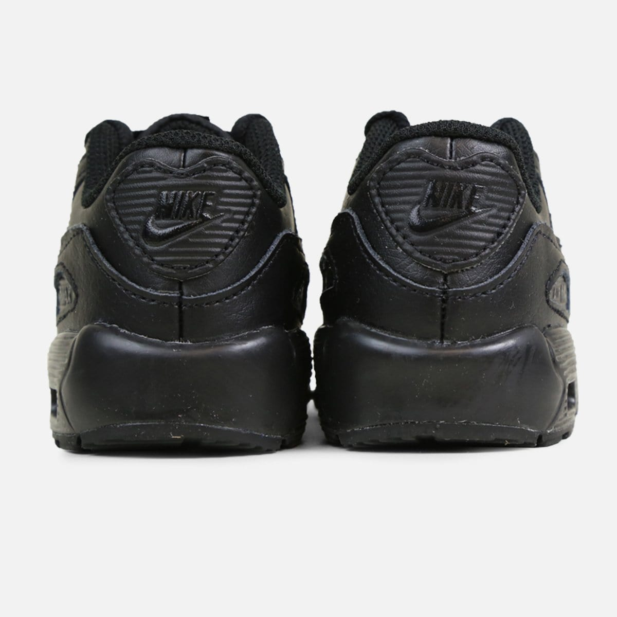 Nike Air Max 90 Leather Infant (Black/Black)