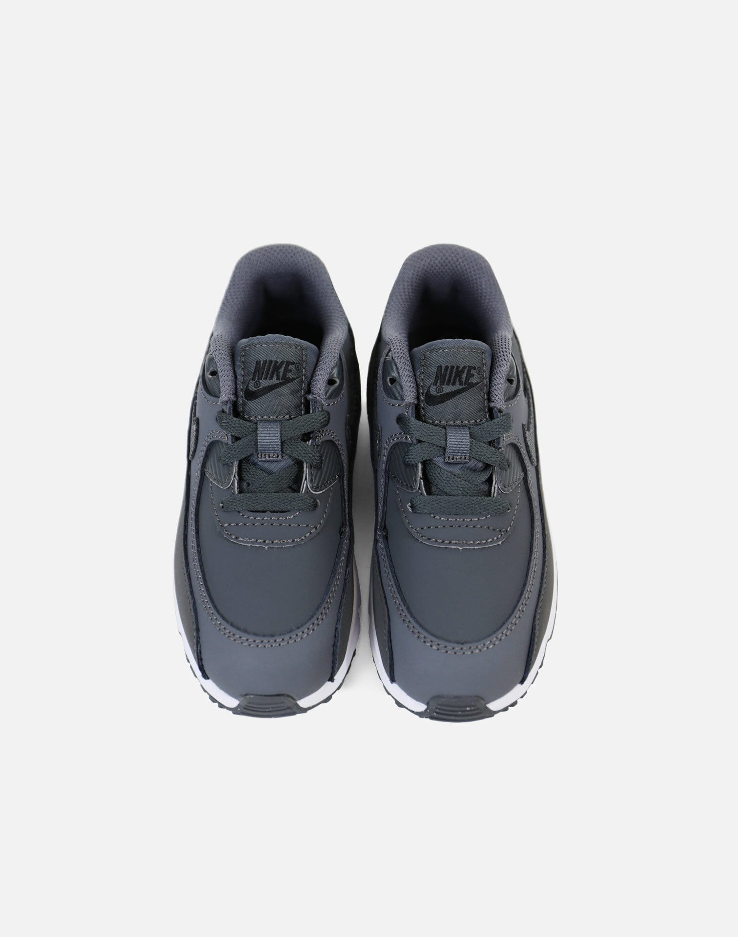Nike Air Max '90 Leather Infant (Dark Grey/Dark Grey-Black)