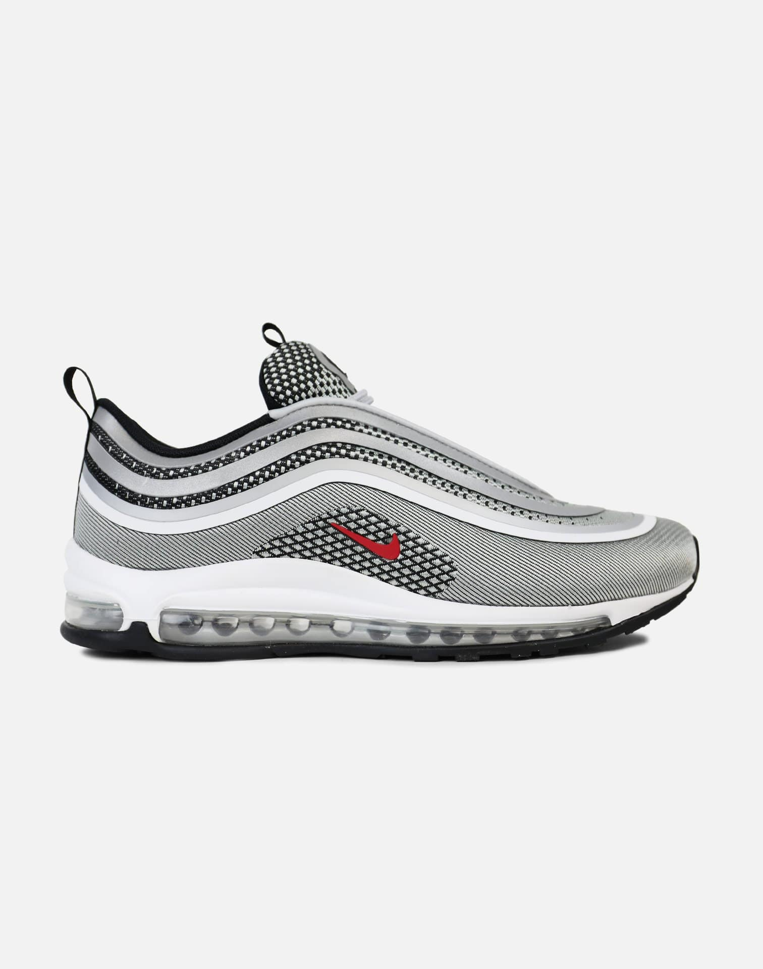 Nike Air Max '97 Ultra (Metallic Silver/Varsity Red-Black)