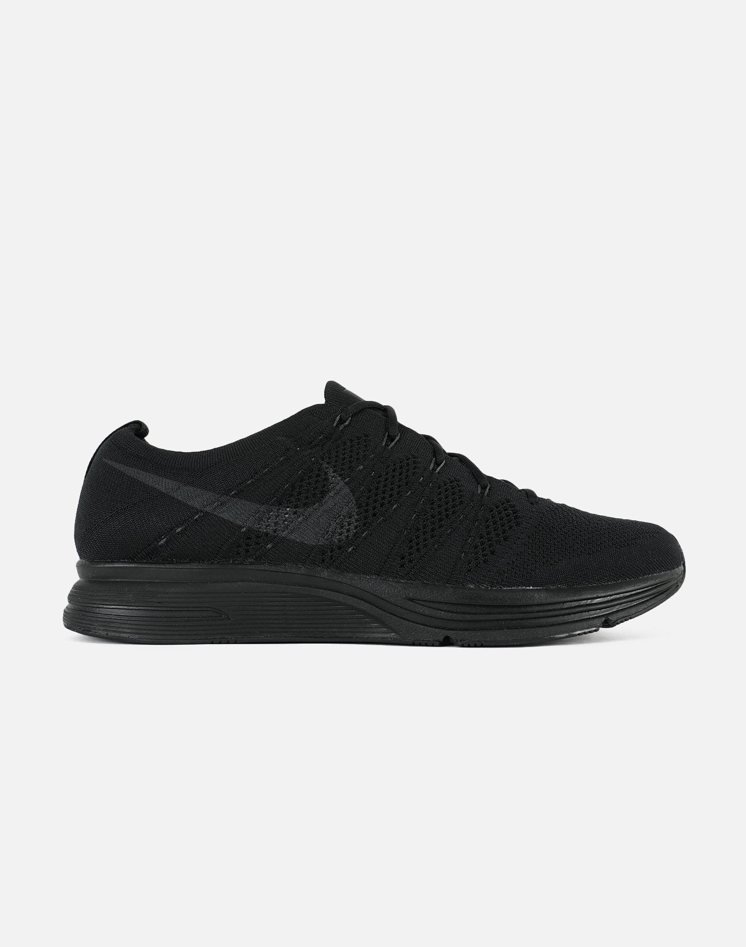 Nike Men's Flyknit Trainer QS 'Black Anthracite'