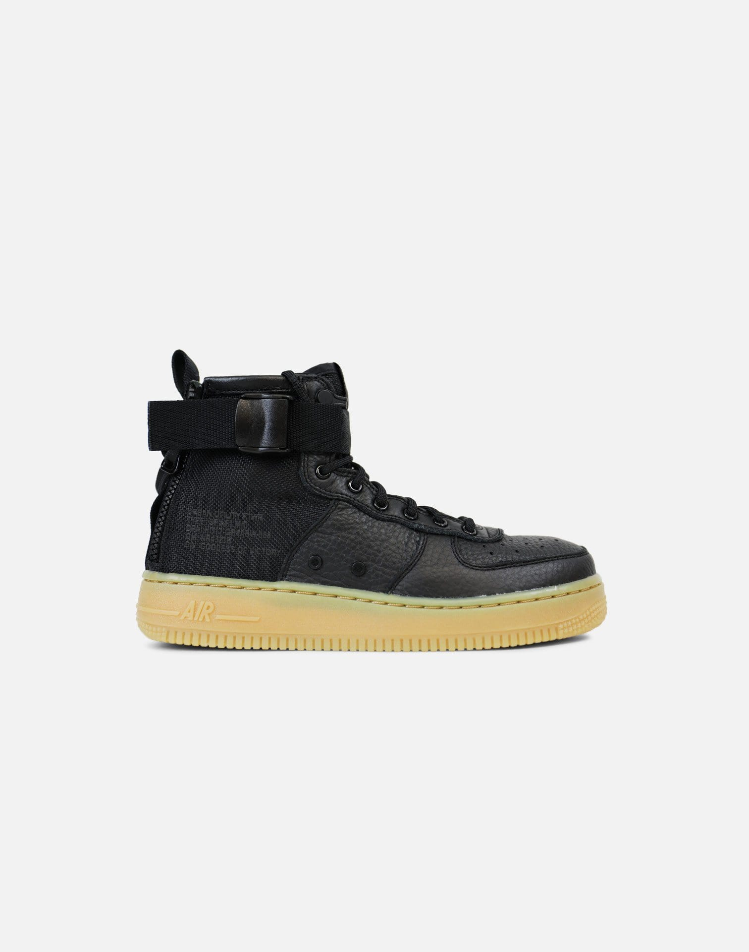 Nike SF Air Force 1 Mid 'Urban Utility' Grade-School (Black/Gum Light Brown)