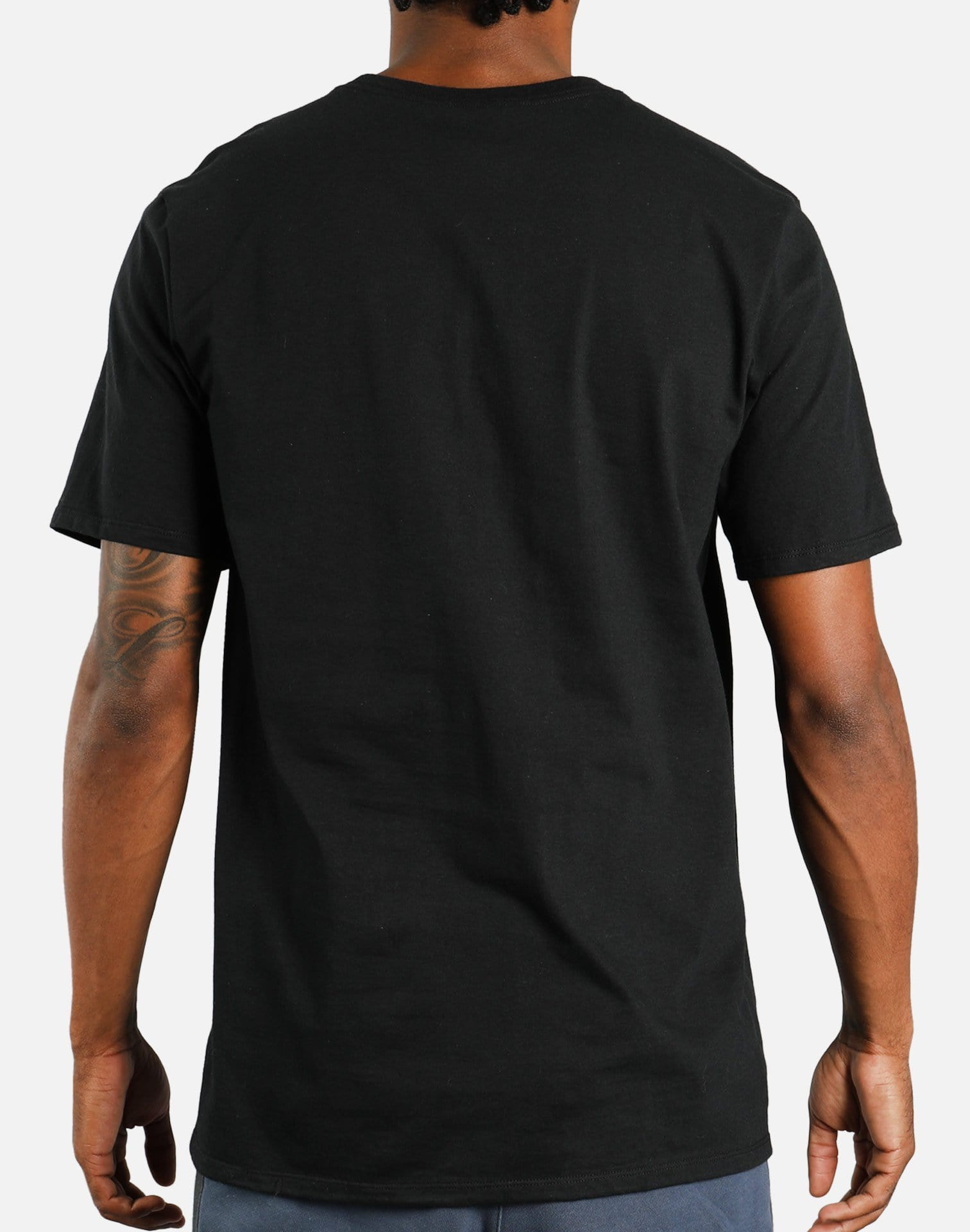 Nike NSW Dry Branded Tee (Black/Multicolor)