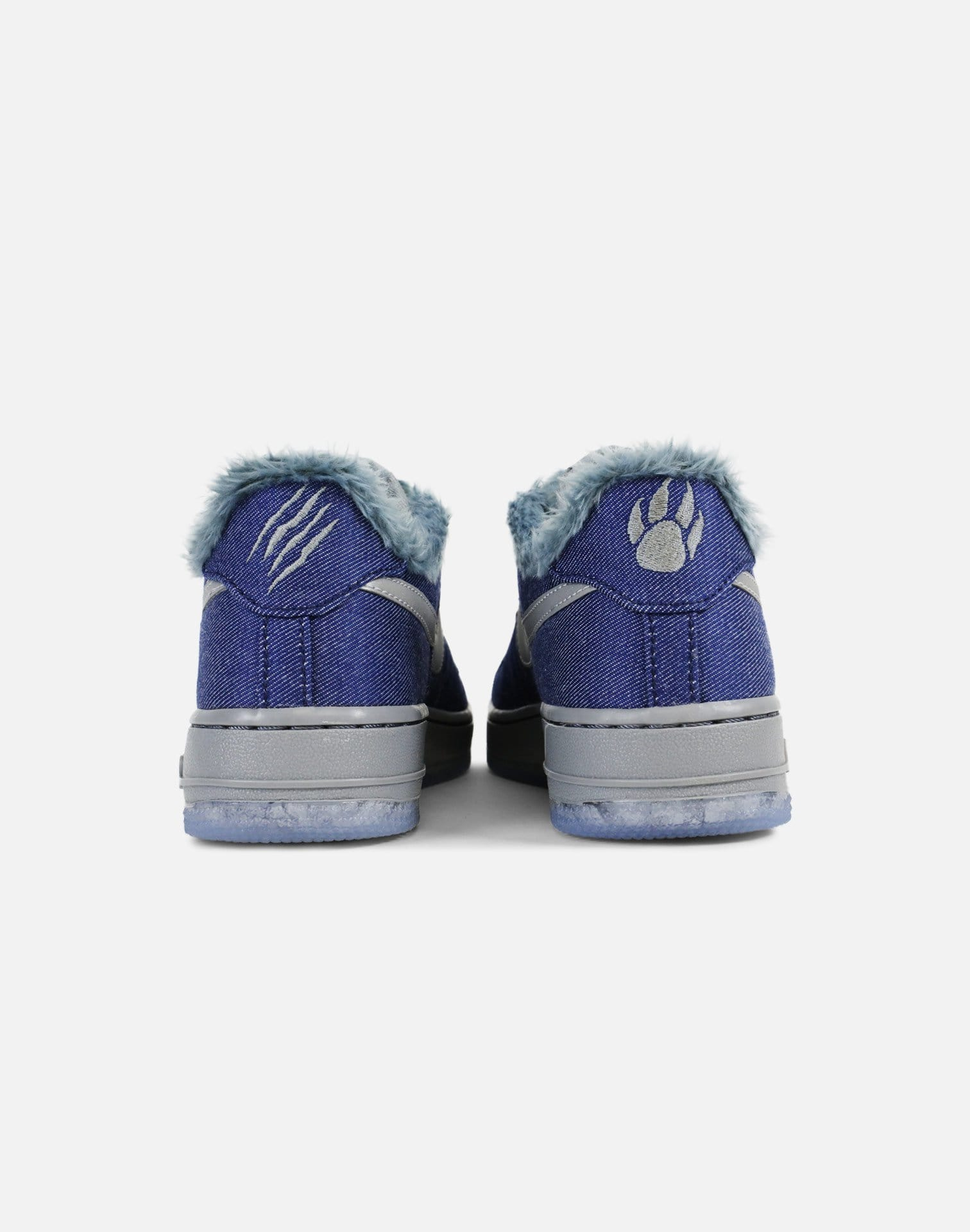 Nike Air Force 1 Low Pinnacle 'Werewolf' Grade-School (Denim/Wolf Grey-Ice Blue)