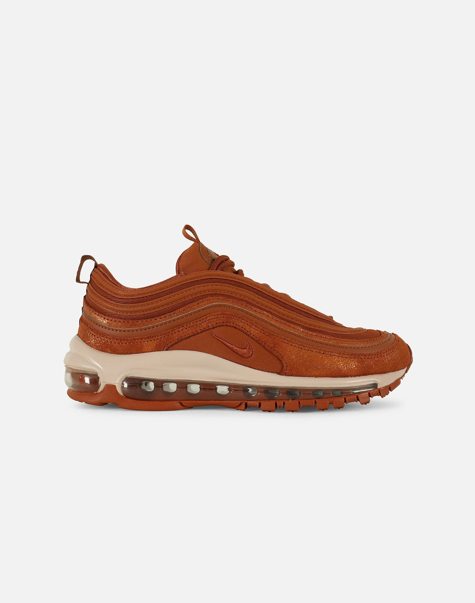 Details about Nike Air Max 97 SE Shoes Dark Russet Metallic Tawny Womens AV8198 201