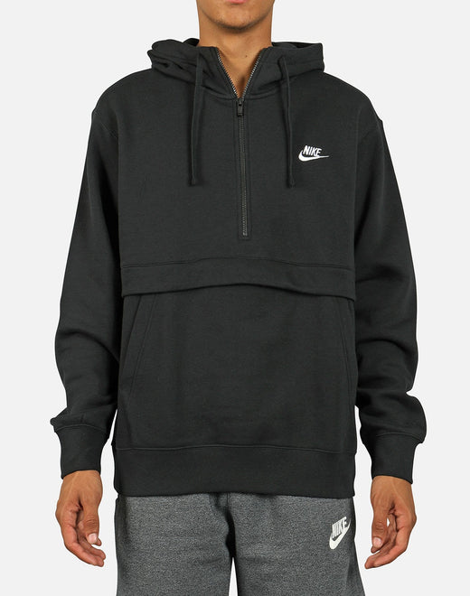 Nike Men's NSW Club Fleece Half-Zip Hoodie