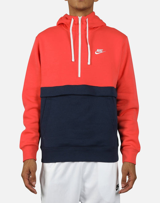 Nike NSW Men's Club Fleece Half-Zip Hoodie