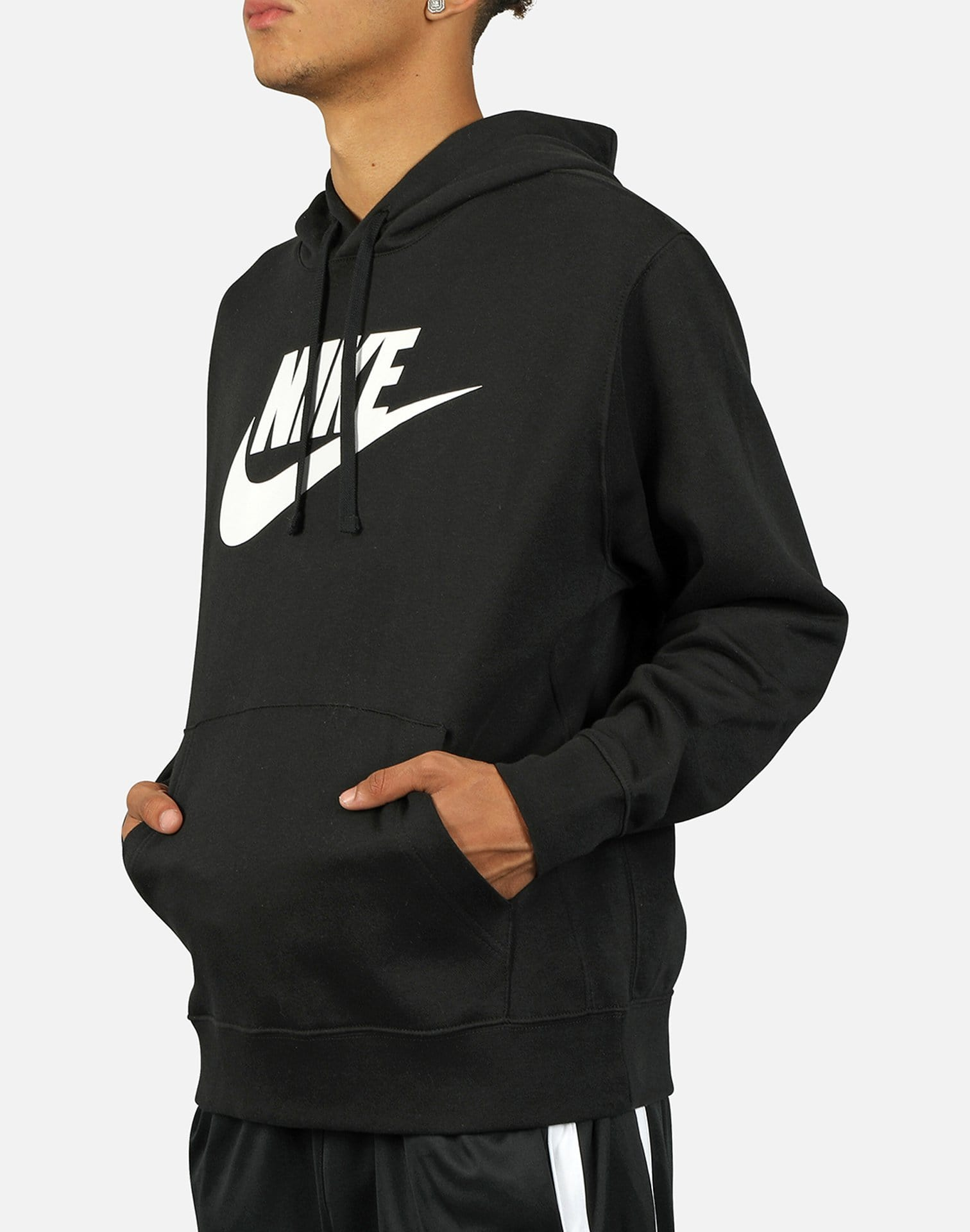 Nike NSW Men's Club Fleece Graphic Pullover Hoodie