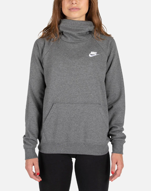 Nike NSW Women's Essential Funnel-Neck Fleece Pullover Hoodie