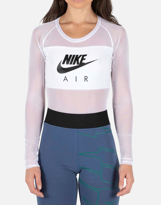 AIR LONG-SLEEVE MESH BODYSUIT