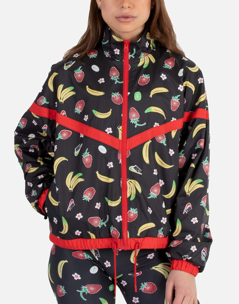 NSW FRUIT AOP WOVEN JACKET