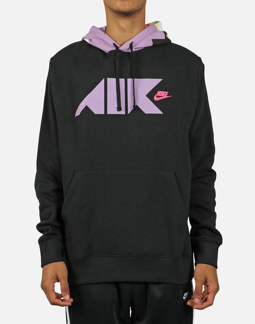 Nike Men's NSW Club Fleece Geometric Hoodie