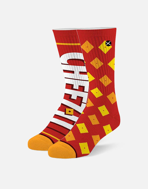 CHEEZ IT CRACKERS SOCKS