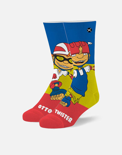 ROCKET POWER OTTO & TWISTER CREW SOCKS