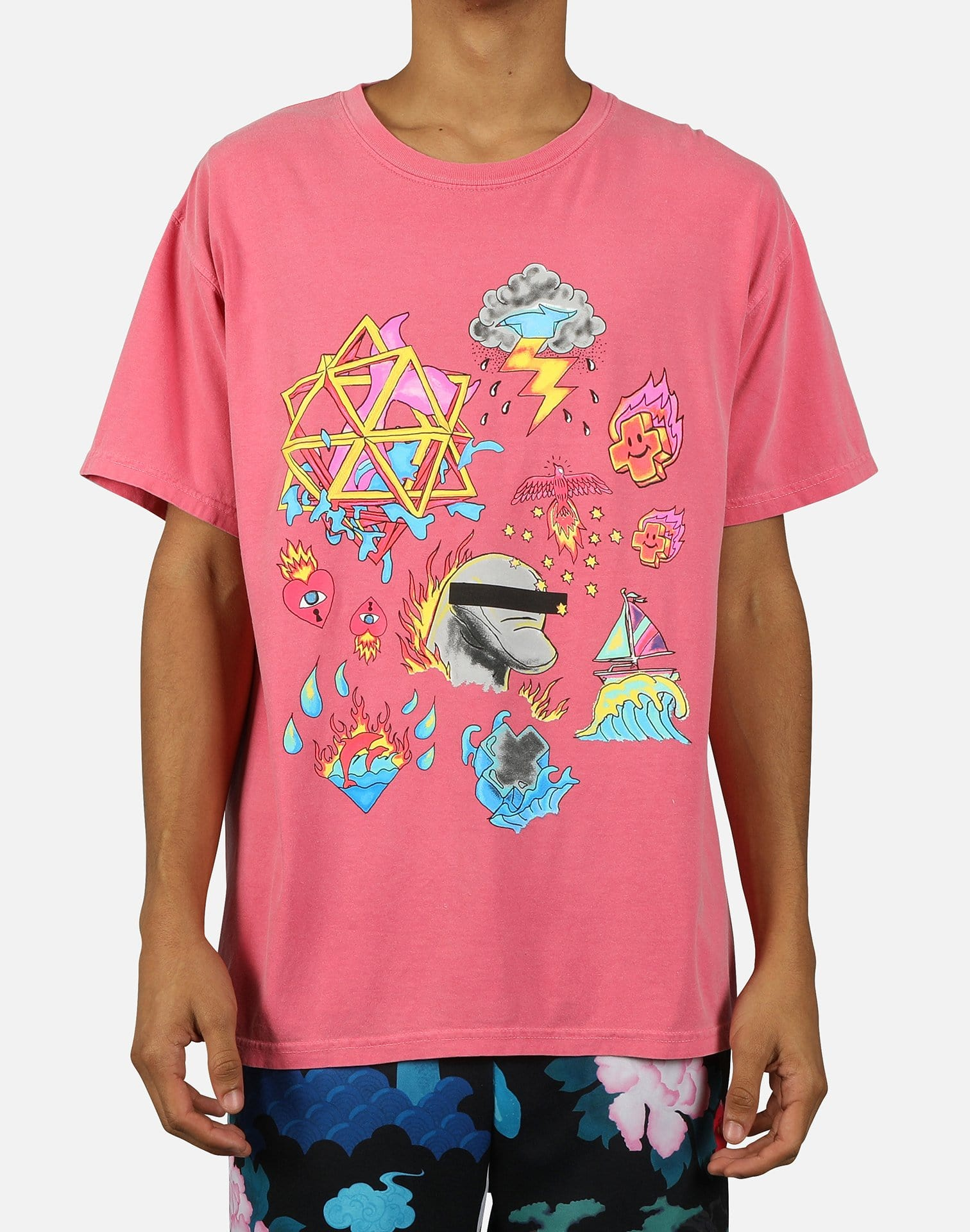 Pink Dolphin Men's Elemental Tee