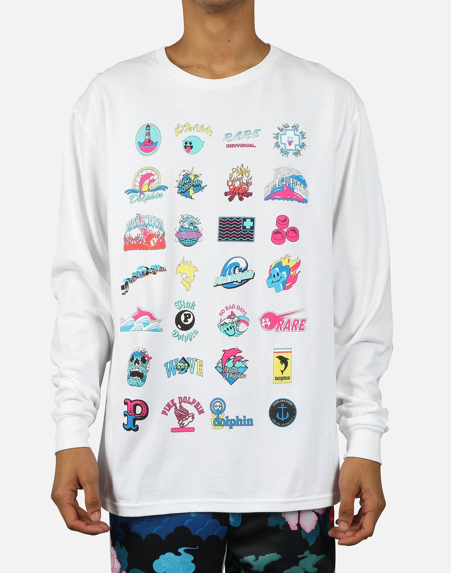 Pink Dolphin Men's Legendary Archive Long-Sleeve Tee