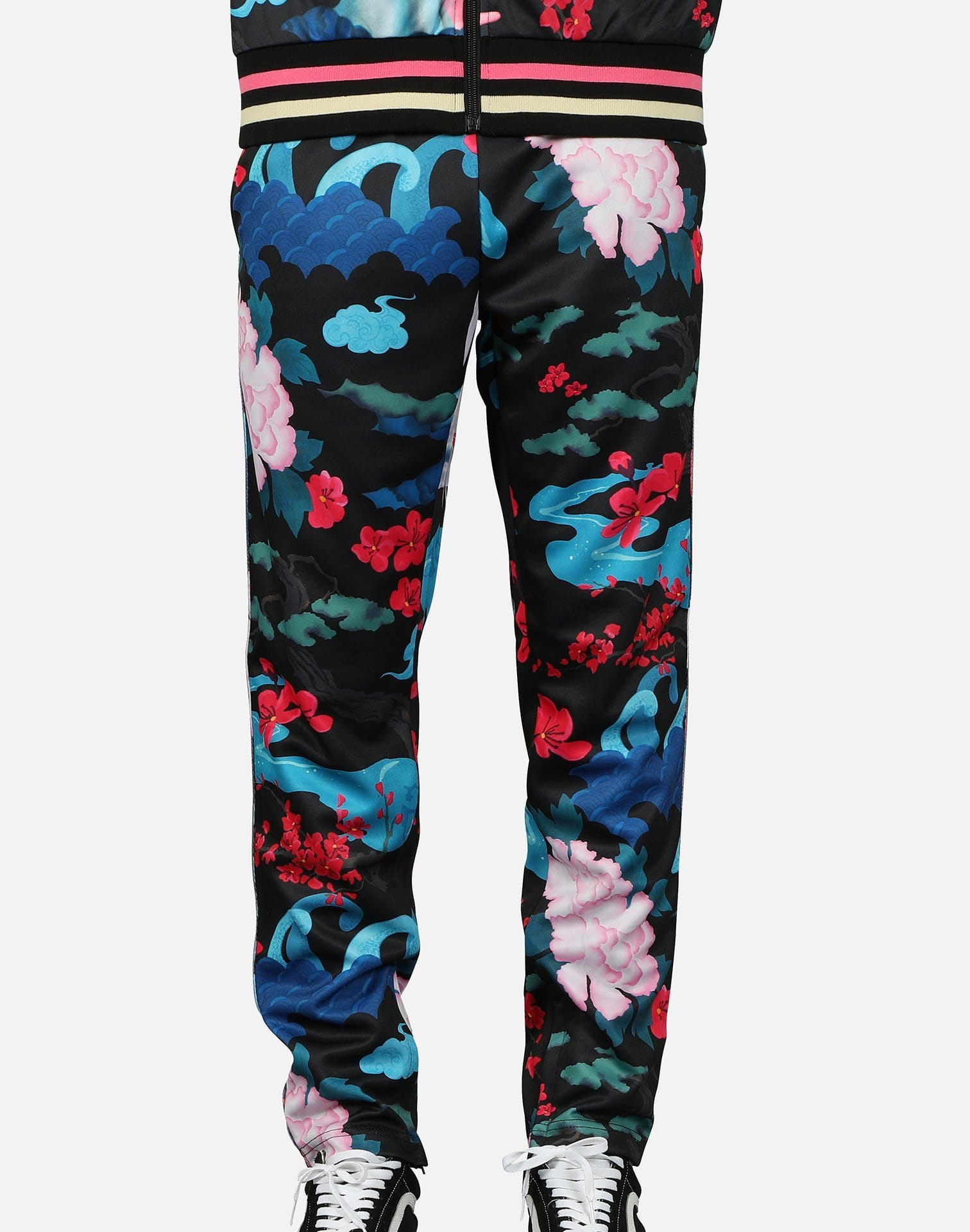 Pink Dolphin Men's Japanese Garden Track Pants