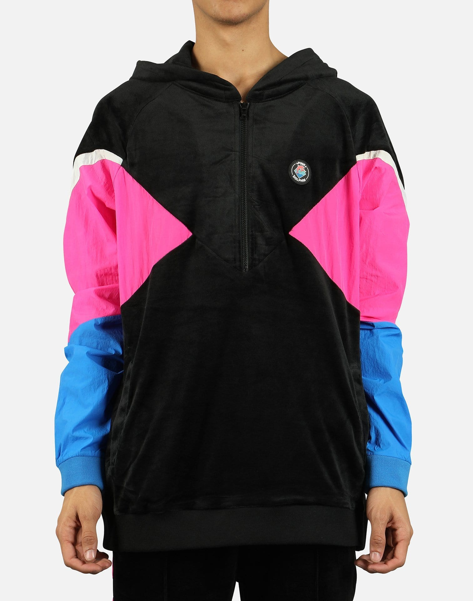 Pink Dolphin Men's SMU Tech Velour Jacket 3.0