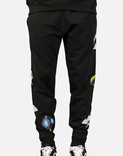 FREE DIVE FLEECE JOGGER PANTS